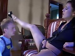Hot milf and lucky guy