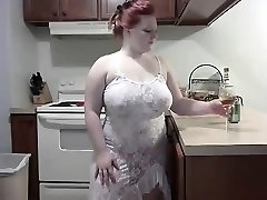 Wild Redhead PLUMPER striping on Web Cam