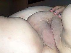 Plus-size long strokes & creampie