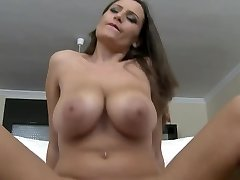 HUGE MASSIVE All-natural BOUNCING BOOBS RIDING Knockers