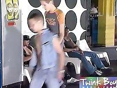 Twink Boy Media Black shaft in his twunk ass