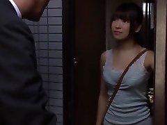 Exotiska Japanska hora Satomi Nomiya, Izumi Harunaga, Haruna Ayane i Hetaste oldie, högskola JAV scen