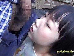 Molto Carino Rin Aoki, Uno Dei suoi Primi Film Scopata In Campagna Da Un Contadino
