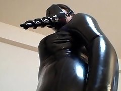 Asian Spandex Catsuit 02