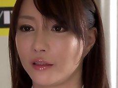 Beprotiškas Japonų modelis Kotone Kuroki, Neįtikėtinai dideli papai, rimming JAV filmo