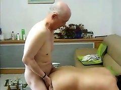 Fucking Friend 's Japanese Granny