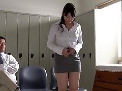 JAV star Rei Mizuna tutor striptease Subtitles