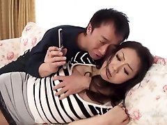 Ruri Hayami Coerced into Hook-up by Spouse's Friend (Uncensored JAV)