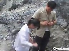 Chinese outdoor sex