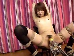 Incredible Japanese chick Miyu Sugiura in Fabulous Small Bosoms, Fucking Machines JAV clip