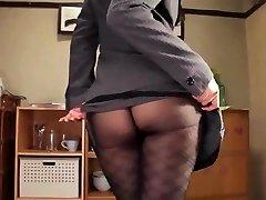 Shou nishino soap superb gal pantyhose ass whip ru nume