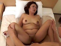 stunning Asian mature (censored)