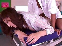 Yuna Shiina in Sexual No Thong Teacher part 2.1
