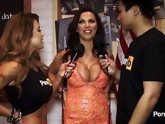 PornhubTV Nikki Benz Interview at 2015 AVN Awards