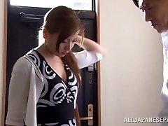 Exceptional Chinese milf Ren Mukai enjoys posture 69