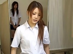 Japanese teen cocksluts in hot hidden camera medical movie