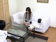 Medical fantasies fulfilled by japanese medic in spy video