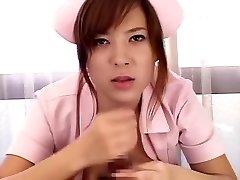 Horny Japanese slut Yuka Maeda in Amazing Medical, Big Bra-stuffers JAV gig