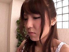 Exotic Asian girl Kokoro Maki in Hottest rimming, couple JAV scene