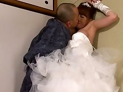 Akiho Yoshizawa in Bride Poked by her Father in Law part 2.2