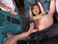 Ultra-kinky pornstar Aiko Hirose in best fake penises/toys, fetish xxx scene
