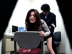 Asian police station antics where cops get to nail their su