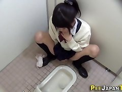 Hairy japanese teenage fumbles