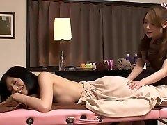 lesbian masaža