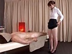 Subtitled traditional Chinese bottomless rubdown Yui Hatano