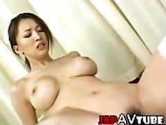 Busty chinese nurse gets cumshot