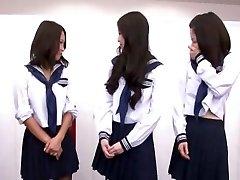 čudovito japonski dekle airi minami v eksotičnih glory hole, amaterski posnetek jav