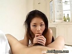 Deepthroats Shaft and Salivates Cum part2