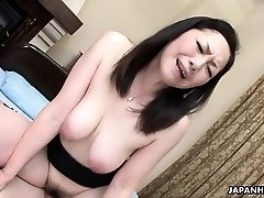 Asian wife got her hairy snatch drilled after a 69