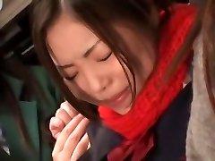 csodálatos japán modell minaki saotome, azusa nagase őrült szőrös, fogás jav jelenet
