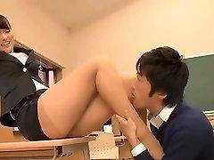 Gyönyörű Japán Tanár