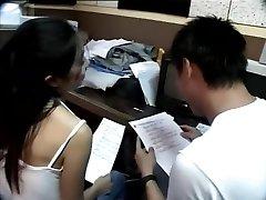 Taiwanés pareja tenga un estudio de romper