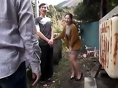 Asian Teenager Night Outdoor Pussyfingering