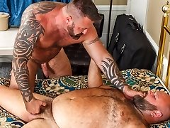 Will Foster and Marc Angelo - Handjob - BearFilms