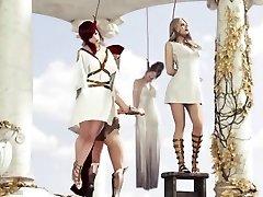 Roman nymph hanged