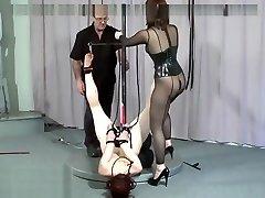 Girl-on-girl bondage