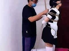 Chinese Maid Bondage and Punish