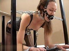 #153 Lingerie device restrain bondage