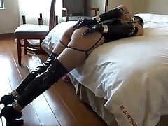 Japanese Girl Tape Bondage