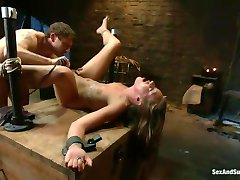 Sex Slave Lizzy London in BDSM Humiliation