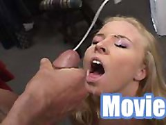 Gigantic facial movies with Peter North and Amber Rain