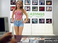 Marina Angel Violent Castings Panty Gag