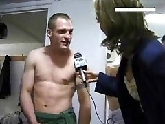 Locker Room Interview