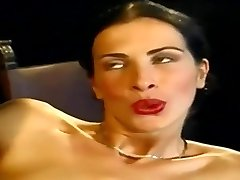 Anal... Sexy Slender Italian Babe Wambammed On Stage... Vintage