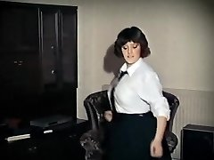 WHOLE LOTTA ROSIE - antique big mounds schoolgirl strip dance