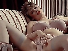 Undergarments DAYDREAM - vintage 80's big tits in stockings